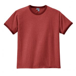 District Young Mens Cotton Ringer Tee