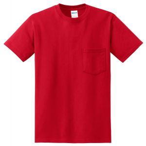 Gildan DryBlend 50 Cotton 50 Dry Blend Poly Pocket T-Shirt