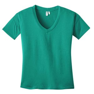 District Made Ladies Modal Blend Relaxed V-Neck Tee